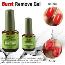 Load image into Gallery viewer, Burst Magic Remove UV Gel Nail Polish Magic Remover Soak off Nail Art Primer Acrylic Clean Degreaser For Nail Lacquer