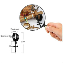 Load image into Gallery viewer, 1 Pair Punk Men's/Women's Titanium Steel Hypoallergenic Earrings