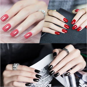 4 Pcs/Lot Nail Gel Polish 7 ML 58 Colors to choose Long-Lasting Need UV/LED Lamp