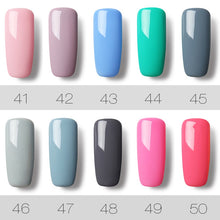 Load image into Gallery viewer, 4 Pcs/Lot Nail Gel Polish 7 ML 58 Colors to choose Long-Lasting Need UV/LED Lamp