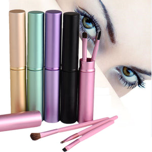 5pcs Travel Portable Mini Eye Makeup Brushes Set Smudge Eyeshadow Eyeliner Eyebrow Brush Lip Make Up Brush kit Professional