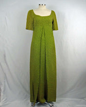 Load image into Gallery viewer, 1960s Kiwi Matelassé Empire Maxi Dress