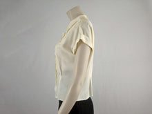 Load image into Gallery viewer, 50s Beige Lace Blouse / Fashionality by Sidele Large