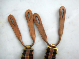 1920s UNUSED Hikok Bull Dog Suspenders AMAZING Art Deco Graphics