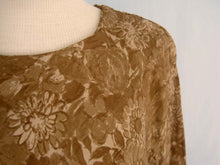 Load image into Gallery viewer, 1960s Alper Schwartz Gold Silk Blouson Dress