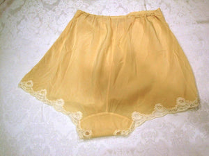 1930s Silk Panties Lingerie Sax Fifth Avenue Tap Pants