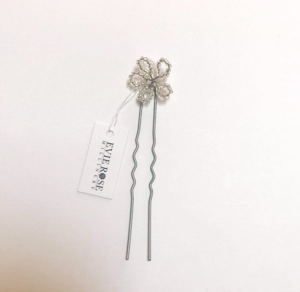 Faith Beaded Daisy Pin