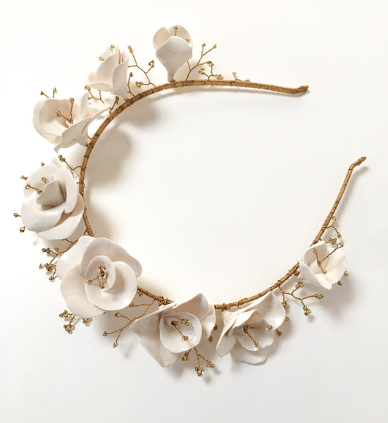 Emily Floral Crown