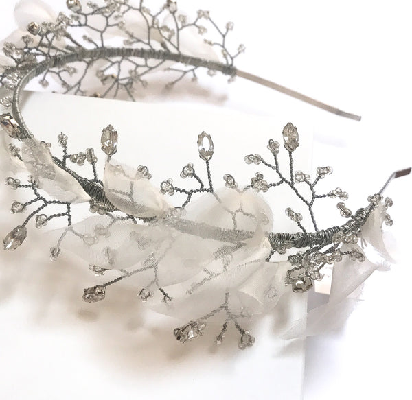 Eva Crystal Petal Band