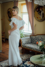 Load image into Gallery viewer, MIA WHITE LINEN MAXI DRESS