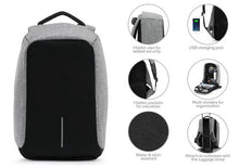 Load image into Gallery viewer, Anti-Theft Backpack With USB Charging Port