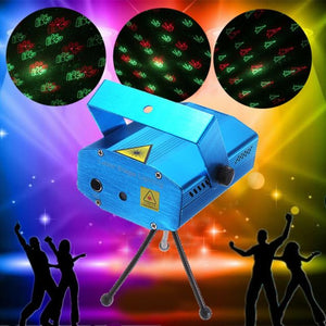 Mini Light Projector For Diwali & Christmas Festival Celebration