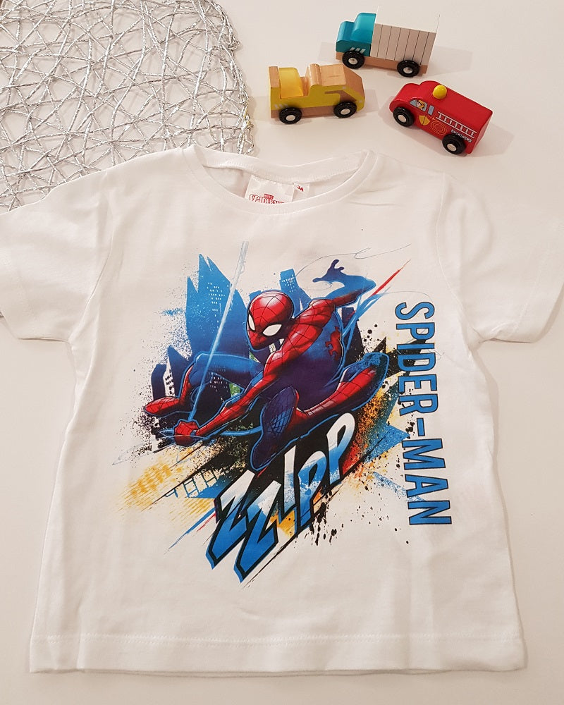Marvel Spiderman tshirt size 4