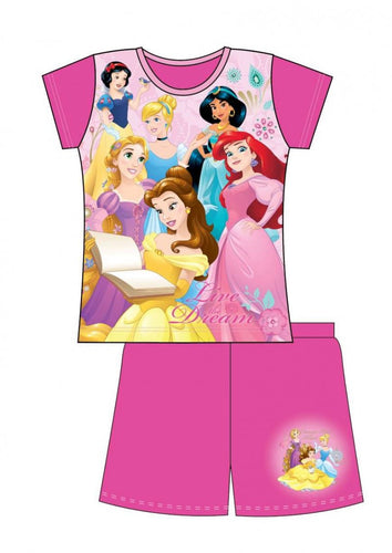 DISNEY PRINCESS SUMMER PYJAMAS