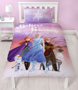 FROZEN, SINGLE DOONA COVER SET