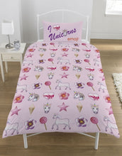 UNICORN & MERMAID REVERSIBLE SINGLE DOONA COVER SET