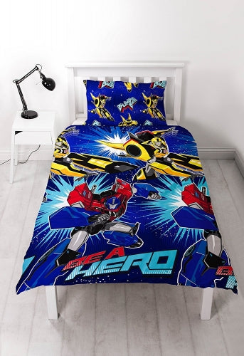 TRANSFORMERS SINGLE REVERSIBLE DOONA COVER