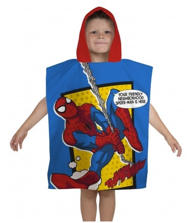 Spiderman Hooded Towel / Poncho