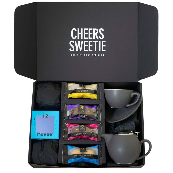 T2 Tea Gift Box Grey