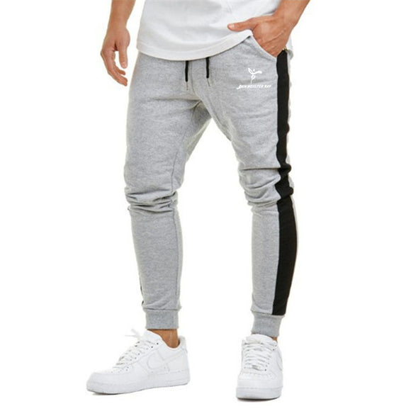 2019 New casual men's pants cotton Fitness jogger stretch pants men
