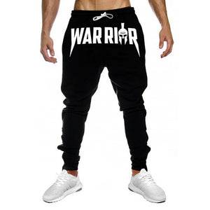 Autumn Men Slim Drawstring Cotton Sweatpants Gyms Fitness Trousers Man