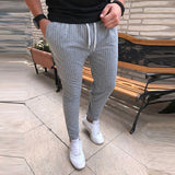 2019 Casual Drawstring Trousers Male Street Fashion Breathable