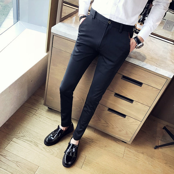 Fashion New High Quality Cotton Men Pants Straight Spring and Summer