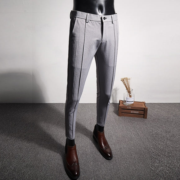 2019 Casual Formal Wear Men's Trousers High Quality Suit Pants