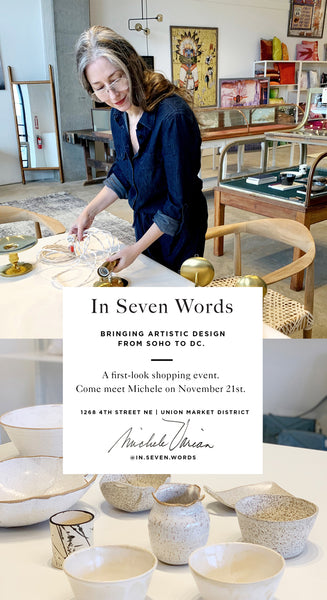 In Seven Words | New Shop Opening in DC Curated by Michele