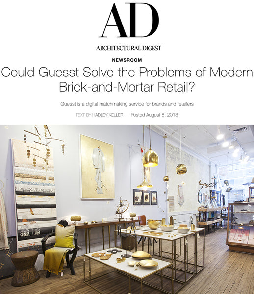Could Guesst Solve Problems of Modern Retail? ArchDigest interviews Michele to find out
