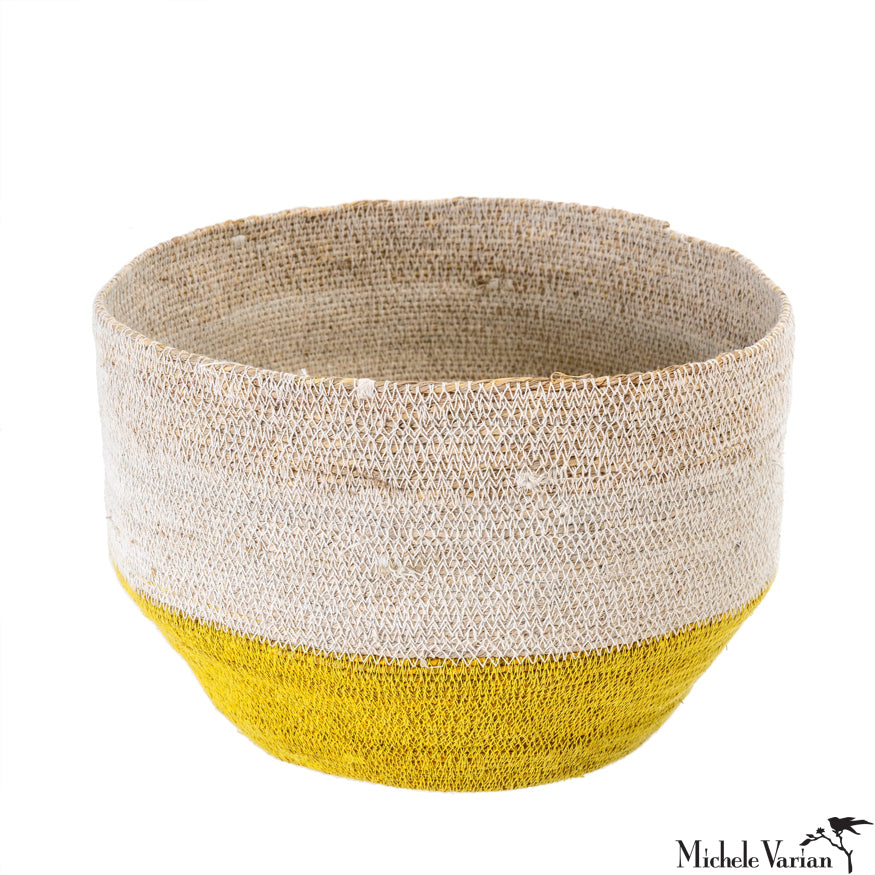 Yellow Capri Basket