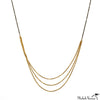 Slinky Long Chains Gold Necklace