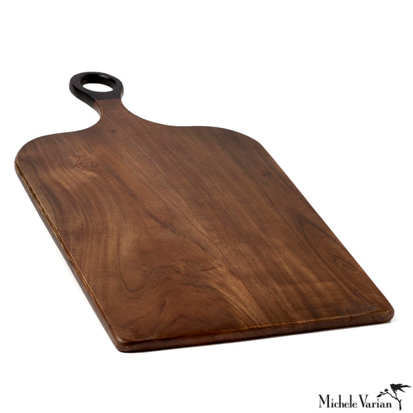 Round Handle Cutting Board Rectangle 14.5 x 25.5