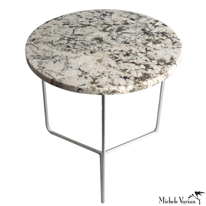 Granite Felspar End Table