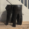Large Ebonized Burnt Out Stump Side Table 03