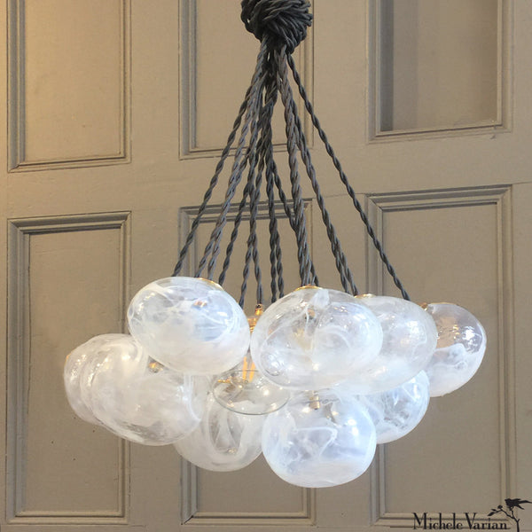 Cloud Marbled Glass Chandelier Pendant Light