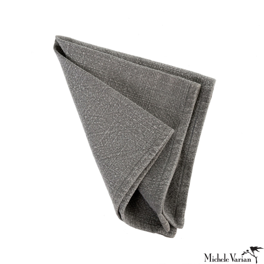 Grey Cloth Napkin
