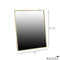 Brass Vanity Mirror Large