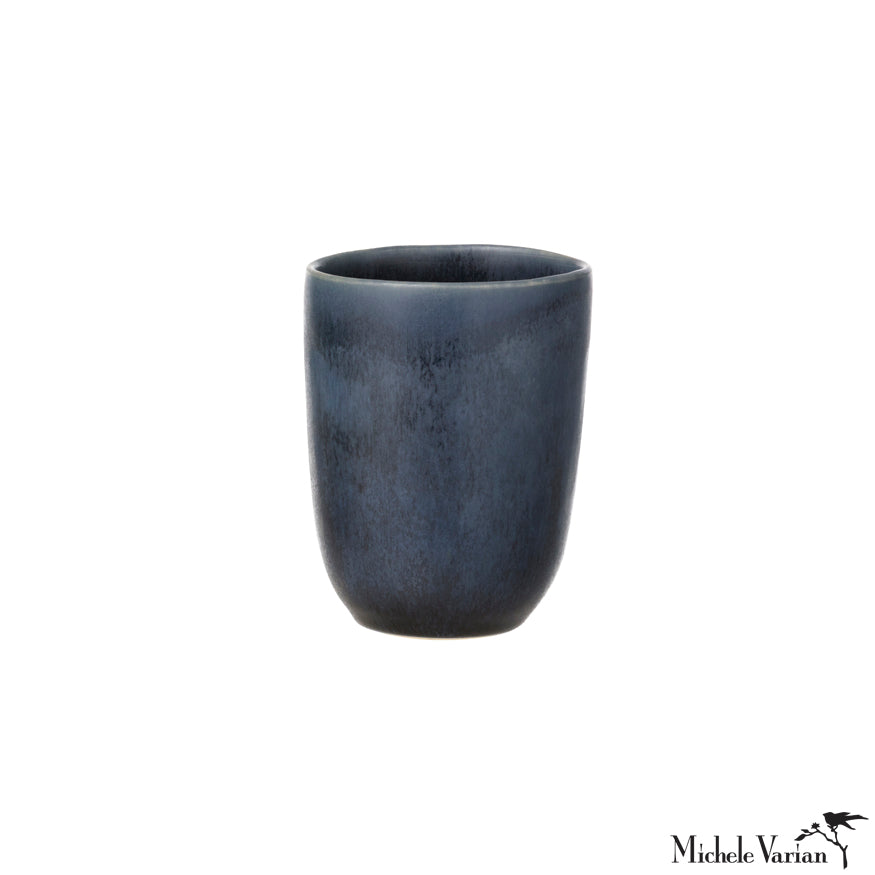 Ceramic Cup Midnight Blue Glaze