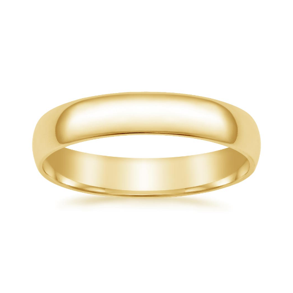 Classic Gold Band 4mm