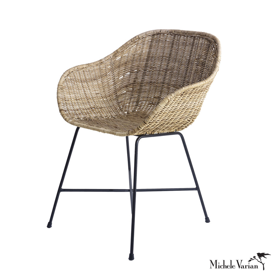 Rattan Arm Chair for Lounging