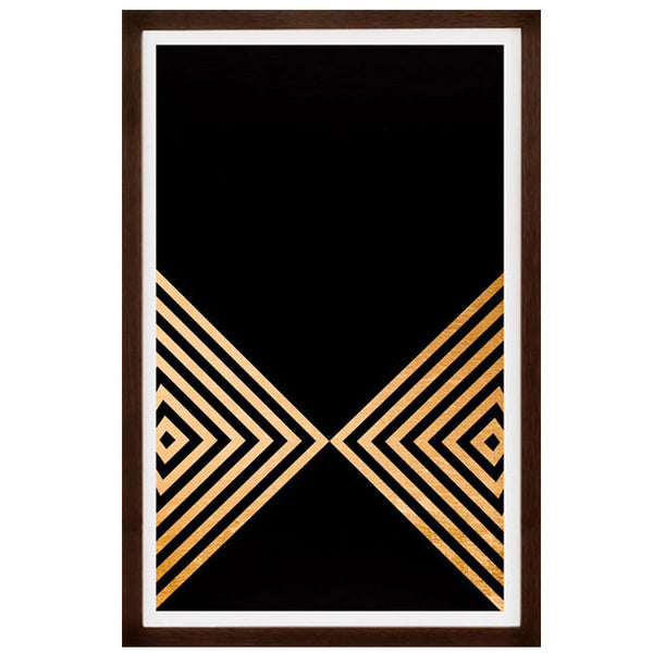 Framed Artwork Arrows I