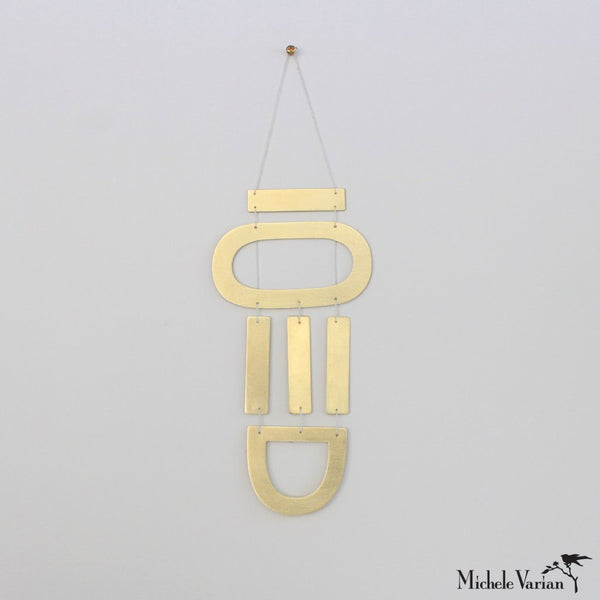 Brass Wall Hanging AW3