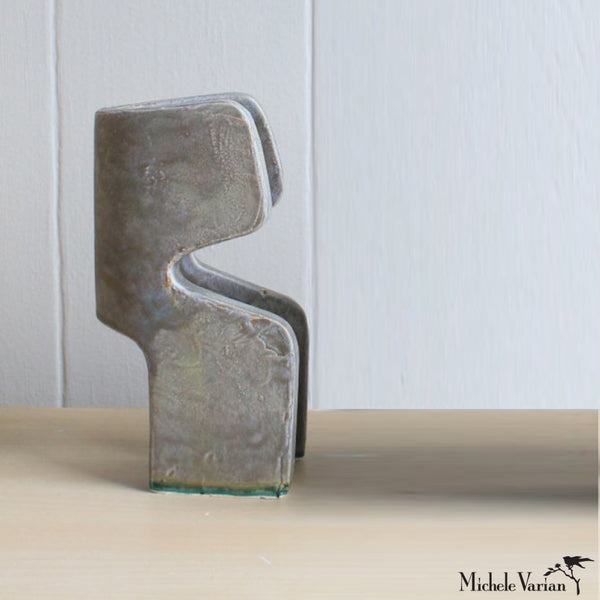 Organic Abstract Ceramic Sculpture 3