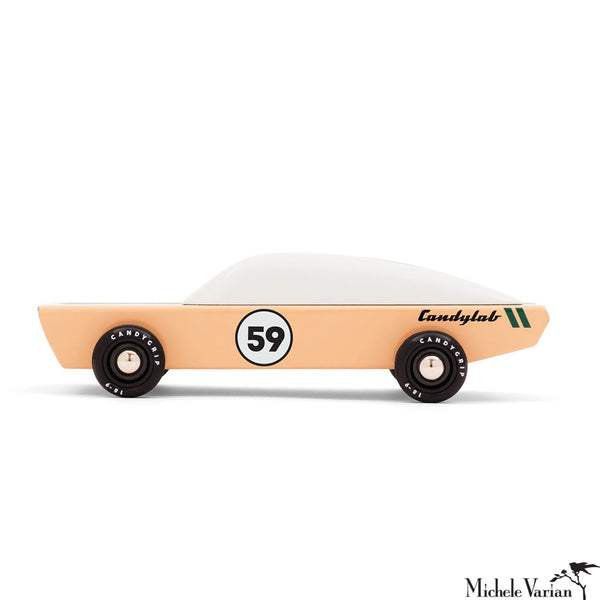 Ace Low Rider Wooden Toy Car
