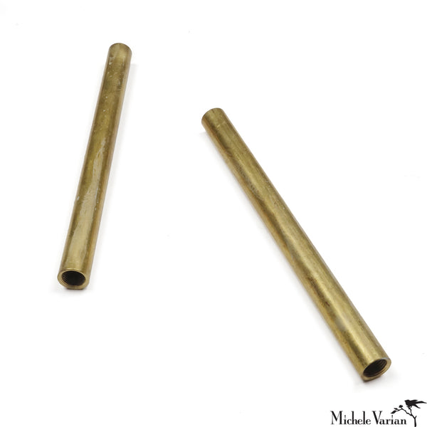Additional Length Pipe in Brass, Nickel, Copper or Steel