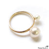 Akoya Pearl Gold Ring