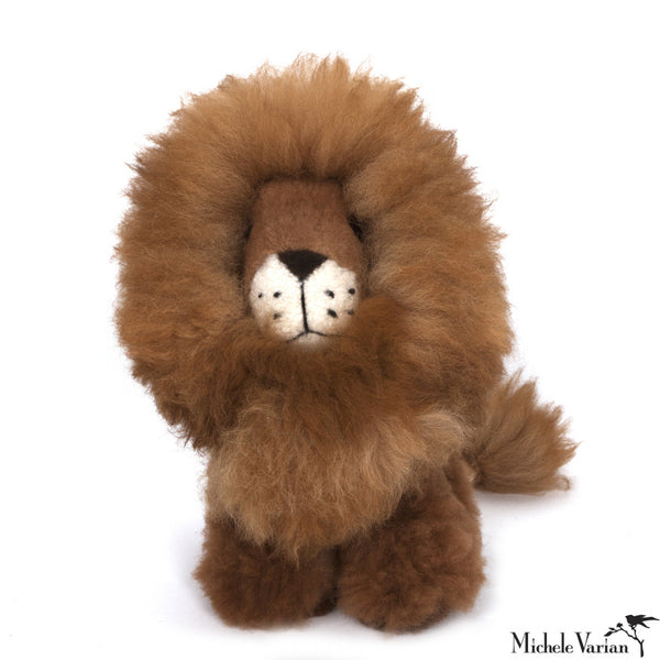 Alpaca Fur Lion Toy