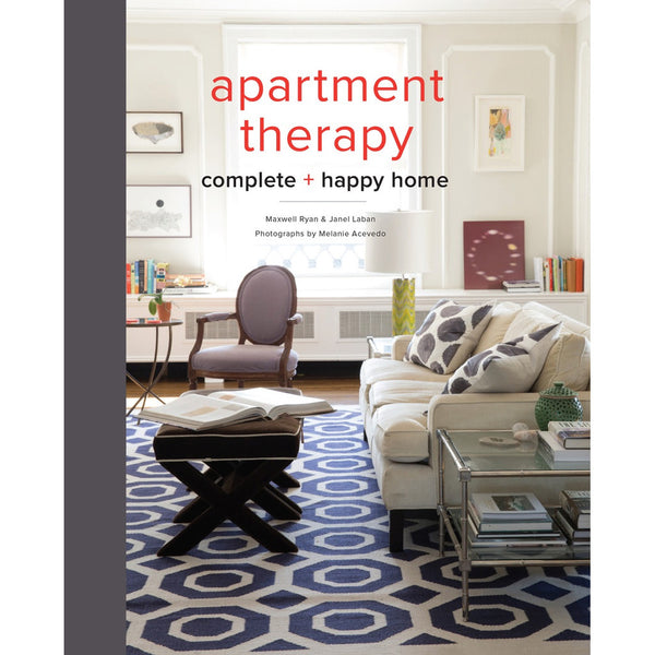 Apartment Therapy Book Complete + Happy Home