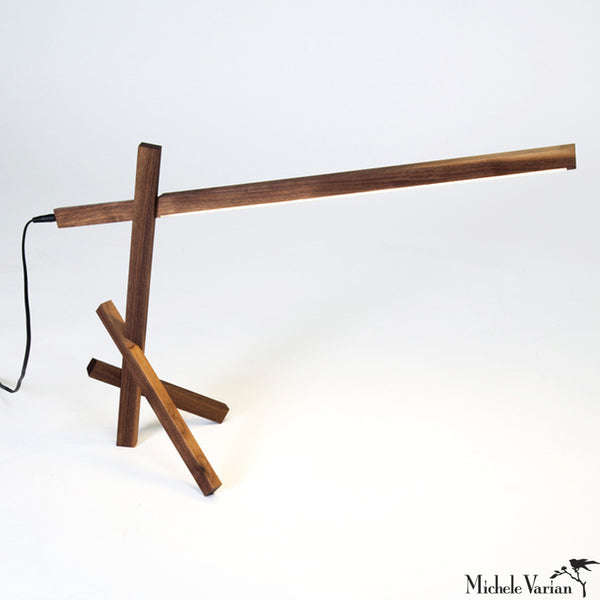Wood Stick Lamp